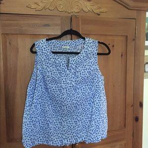 Talbots blouse size LP